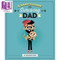 【中商原版】Baby's Guide to Surviving Dad 宝宝爹的幸存指南精品绘本英文原版1-6岁