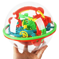 爱可优魔幻智力球100/208关 3D立体迷宫球飞碟儿童益智玩具 AF22023