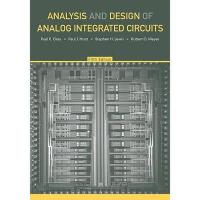 【预订】Analysis and Design of Analog Integrated Circuits