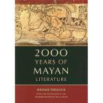 【预订】2000 Years of Mayan Literature