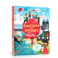 Usborne翻翻学塑料Lift the Flap Questions and Answers About Plasti