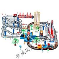 六一礼物托马斯小火车套装轨道玩具男孩充电动和谐号过山车儿童礼物新