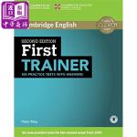 【中商原版】剑桥FCE考试模拟题:学生书(带答案和音频)(适合自学)英文原版 First Trainer Six Pr