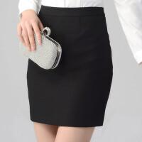 新款春夏包臀半身裙女裙ol职业装工作西裙西装一步裙正装职业短裙
