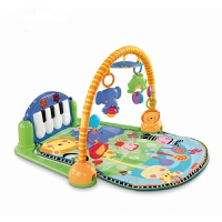 fisherprice脚踏钢琴婴儿玩具宝宝健身架器游戏毯w2621