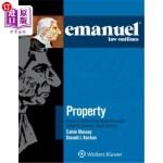 【中商海外直订】Emanuel Law Outlines for Property Keyed to Dukemini