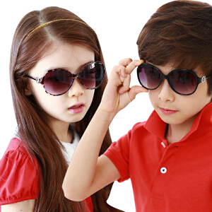 kocotree韩国儿童眼镜小孩眼镜宝宝眼镜防紫外线男女儿童太阳镜墨镜正品潮