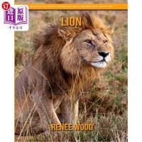 【中商海外直订】Lion: Beautiful Pictures & Interesting Facts Childr