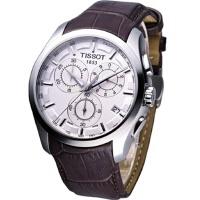 天梭 (TISSOT)手表 库图石英男表T035.617.16.031.00