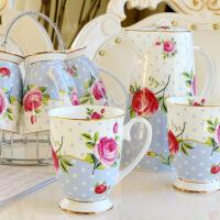 20190307095225443陶瓷杯子水杯套装冷凉水壶水具骨瓷热水壶耐热茶壶家用欧式客厅