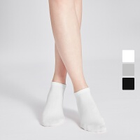 网易严选 2双装 亲肤透爽脚感舒适,女式基础船袜