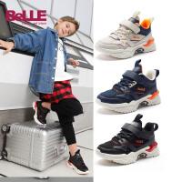 百丽童鞋儿童运动鞋2021春季新款男童跑步鞋中大童鞋子休闲旅游鞋