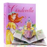 顺丰包邮 Cinderella: A Pop-Up Fairy Tale 灰姑娘立体书 外国少儿童话故事书英文原版儿童