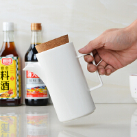 陶瓷酱油壶餐桌厨房用品醋瓶辣椒油罐调味壶油瓶家用餐具