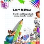 【中商海外直订】Learn to Draw: Animal Drawing Book for Kids: Creati