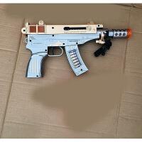 儿童宝宝电动玩具枪声光音乐小孩男孩冲锋机关枪道具2-3-6岁 官方标配