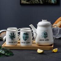 陶瓷杯具套装家用茶杯耐高温茶壶茶具客厅大号水杯杯子套装
