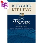 【中商海外直订】Rudyard Kipling: 100 Poems