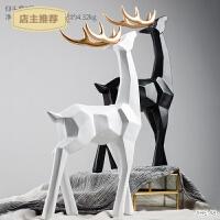现代简约室内装饰品摆件麋鹿创意家居客厅北欧个性电视柜小摆设品SN3966