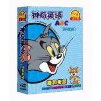 正版 神奇英语ABC (4DVD) 新概念英语 猫和老鼠启蒙英语