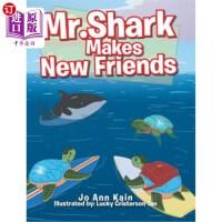 【中商海外直订】Mr. Shark Makes New Friends
