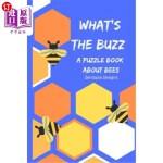 【中商海外直订】What's the Buzz: : A Puzzle Book All about Bees