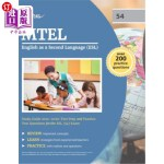 【中商海外直订】MTEL English as a Second Language (ESL) Study Guide