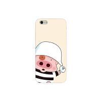 iPhone7手机壳麦兜创意个性苹果6s防摔X软壳8p保护套卡通可爱小猪