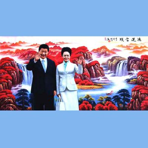 著名油画艺术家,福建省油画协会常务理事曾新伟(鸿运当头)