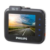 飞利浦CVR208行车记录仪1080P便携高清广角夜视汽车记录仪