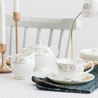 英式下午茶骨瓷咖啡具套装咖啡杯欧式小陶瓷家用