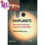 【中商海外直订】Exoplanets: Detection, Formation, Properties, Habit