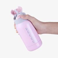 保温杯女带吸管不锈钢防摔便携儿童水杯子男女童小孩小学生幼儿园