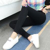牛仔裤女小脚裤韩版黑色高腰学生长裤女士加绒加厚弹力显瘦铅笔裤