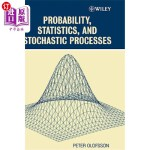 【中商海外直订】Probability, Statistics, and Stochastic Processes