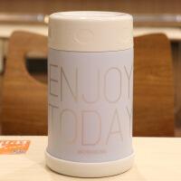 日式清新焖烧杯304不锈钢真空保温杯广口学生午餐点心饭盒焖烧罐