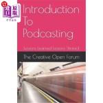 【中商海外直订】Introduction to Podcasting: Lessons Learned Lessons