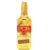 永�S牌 北京二��^ 出口型小方瓶(金瓶)�Z食酒 46度清香型白酒 500ml �纹垦b