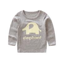 女宝宝长袖T恤婴儿打底衫男童冬季女童内衣小童秋衣儿童上衣
