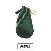 车钥匙包男女韩国可爱迷你多功能创意包个性简约大容量 森林绿