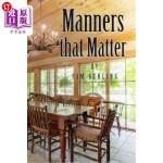 【中商海外直订】Manners That Matter