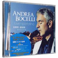 正版包邮 Andrea Bocelli 安德烈波切利:爱在波托菲诺 CD DVD