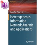 【中商海外直订】Heterogeneous Information Network Analysis and Appl