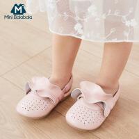 【限时秒杀】迷你巴拉巴拉儿童鞋子2020夏季宝宝新款韩系凉鞋易穿单鞋公主鞋