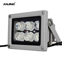 LED监控补光灯白光灯12V高亮6灯照车牌 车辆抓拍 摄像头夜视辅助