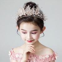 女童发饰公主头箍韩版女孩发箍发带演出饰品儿童头饰金色头花花环