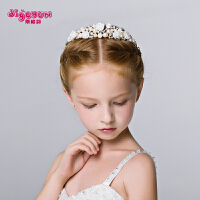 皇冠头饰儿童发箍发饰公主发夹头箍王冠女孩生日演出饰品配饰