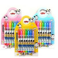 魔笔小良湿擦笔 七彩笔 魔幻涂鸦笔 可擦墨水 学习绘画文具