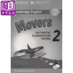 剑桥少儿英语第二级2(YLE Movers)真题集:答案(适合2018年起的考试)英文原版 Cambridge Eng