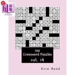 【中商海外直订】100 Crossword Puzzles vol. 14